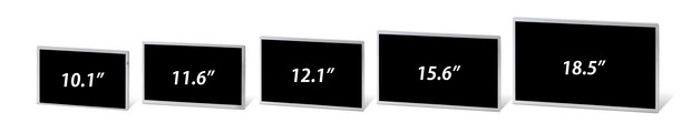 Wide Aspect Ratio LCDs