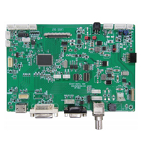 LCD controller HDMI, DVI, VGA component and composite inputs support up to 1920x1200 10-Bit